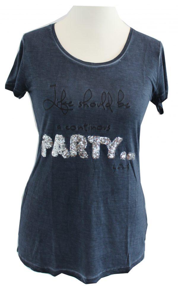 Daily´s Nothing Better T-Shirt Dunkel Blau