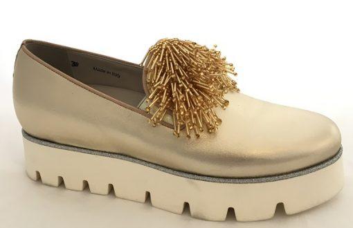 181 Alberto Gozzi Slipper Gold