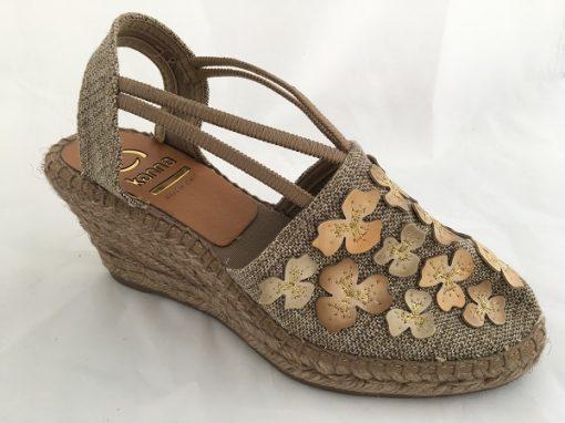 Kanna Wedges Sandale Blumen