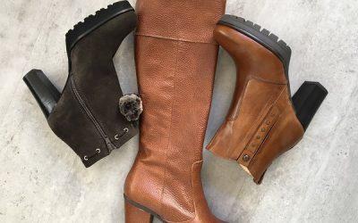 Braun ist das neue Schwarz – Schuh Trends  im Herbst Winter 2018
