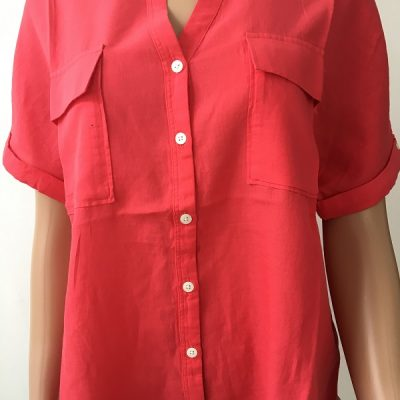 Aigle Damen Hemdbluse Yarrow Shirt Rasberry