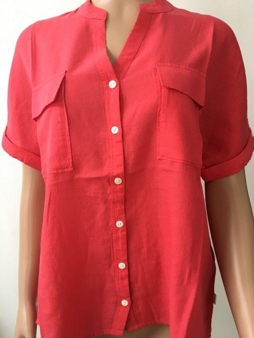 Aigle Damen Hemdbluse Yarrow Shirt Rasberry